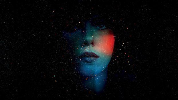 Фото бесплатно Фантастик, девушка, звёзды