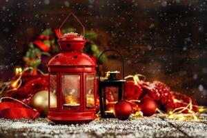 Бесплатные фото красный фонарь,Рождество,фон,дизайн,элементы,новогодние обои,новый год