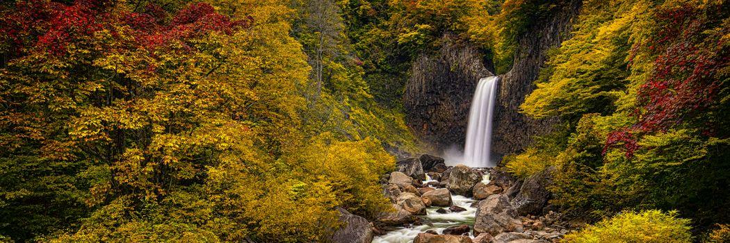 Photo free Naena Falls, Niigata, Japan