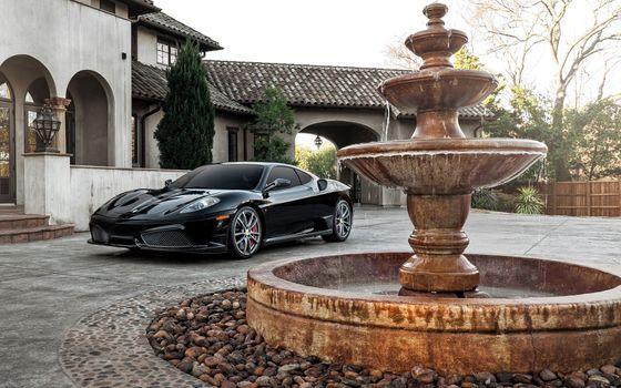 Фото бесплатно Ferrari, Автомобили, черный