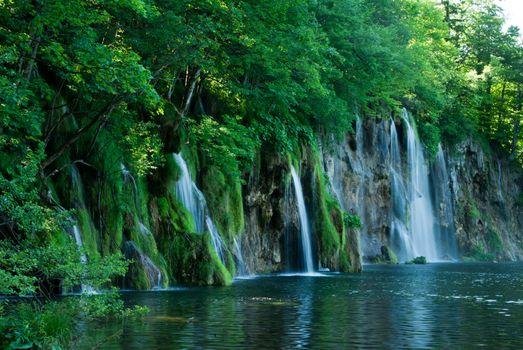 Free waterfall, croatia photos on the phone