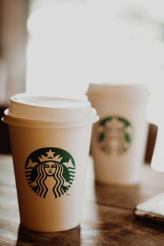 Photo free starbucks cup, coffee, drinks