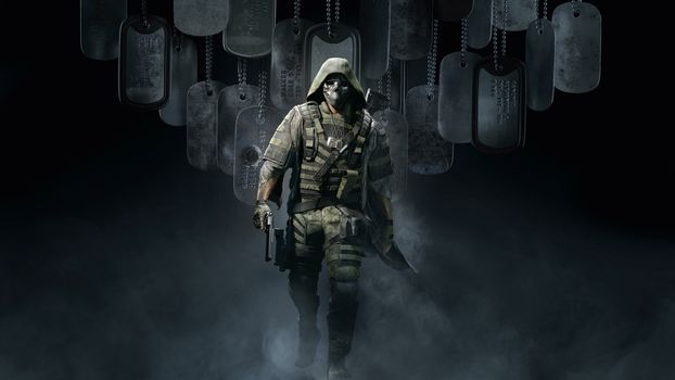 Фото бесплатно Tom Clancys Ghost Recon Breakpoint, тактический шутер, солдат