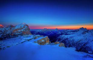 Фото бесплатно снег, Италия, Альпы