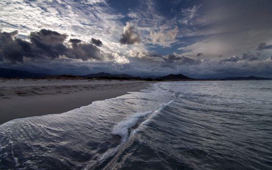 Photo free beaches, clouds, ocean