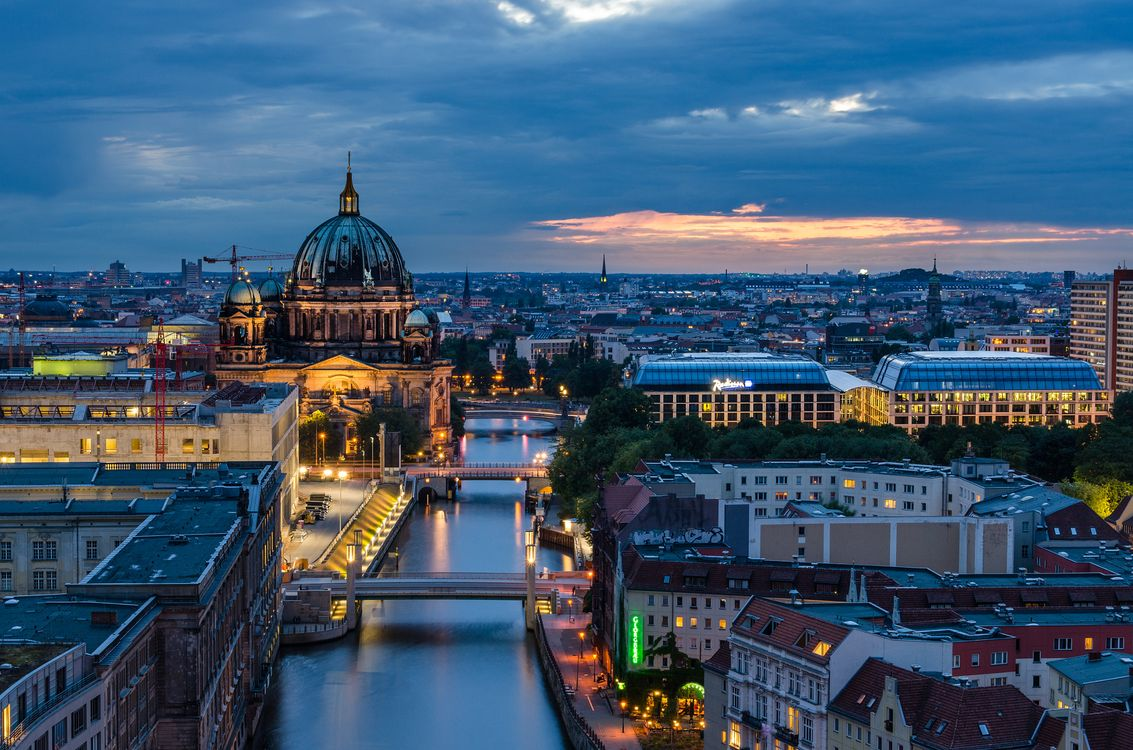 Река в Берлине · бесплатное фото