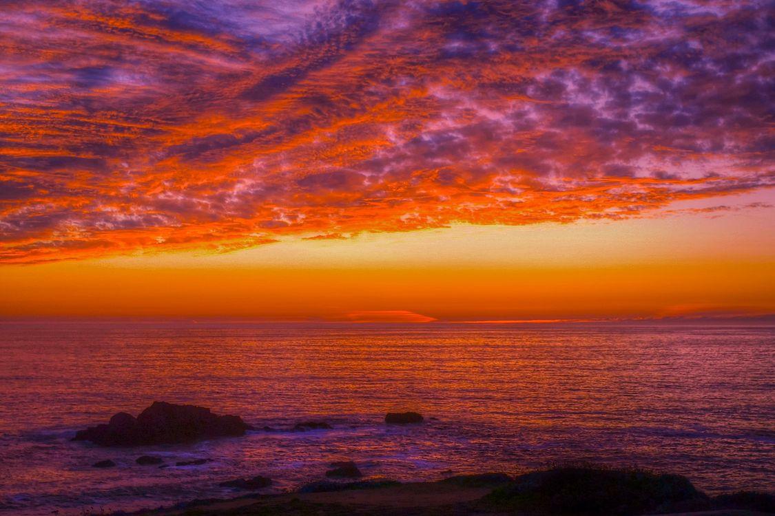 Фото бесплатно Sonoma Coast State Park, State of California, sea, summer, sunset, beach, seaside, landscape, shore, outdoor, ocean, water, coast, dusk, sky, морской пейзаж, пейзажи - скачать
