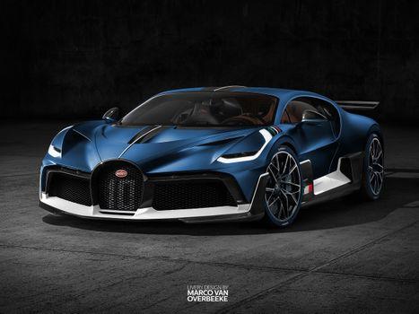 Bugatti Divo · free photo