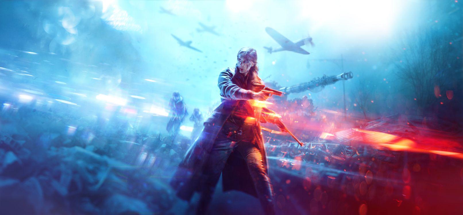 Фото бесплатно Battlefield, из боя в бой, Игры-2018 - на рабочий стол