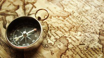 Photo free boussole, compass, map