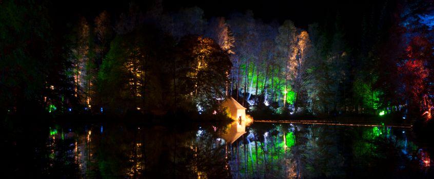 Фото бесплатно Enchanted Lake, Pitlochry, Scotland