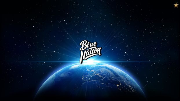 Photo free Nation traps, Blue nation, planet