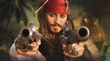 Фото бесплатно Джек Воробей, пират, смышленый малый