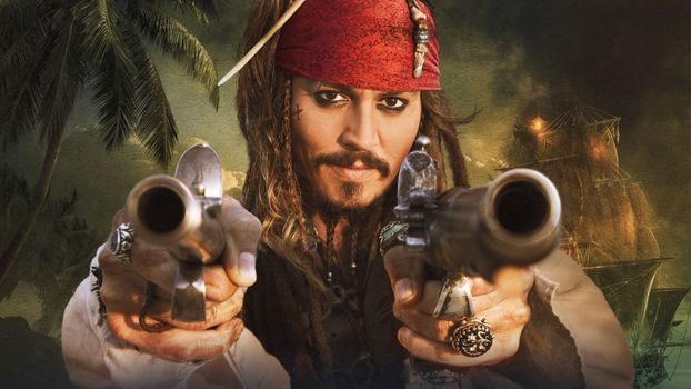 Photo free Jack Sparrow, pirate, smart guy
