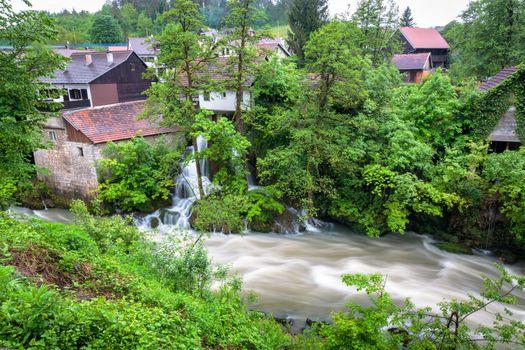 Photo free Croatia, Rastoke, house