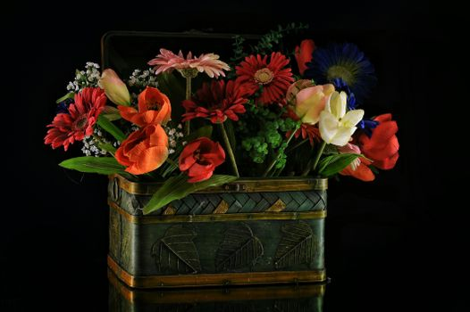 Фото бесплатно цветы, цветочная композиция, праздничный букет