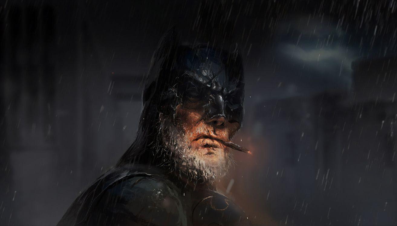 Старый Бетман с бородой · бесплатное фото