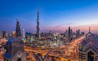 Заставки Дубай, ОАЭ, Дубай Taj