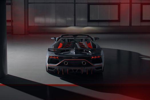 Фото бесплатно Lamborghini Aventador SVJ 63, Lamborghini Aventador SVJ, Lamborghini