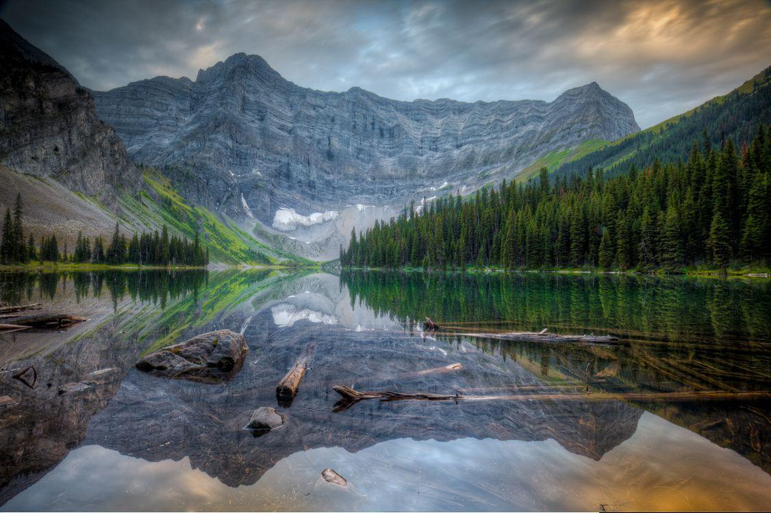 Фото бесплатно Альберта, Озеро Роусон, Канада - на рабочий стол