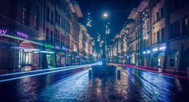 Photo free Bern, shopping, dark