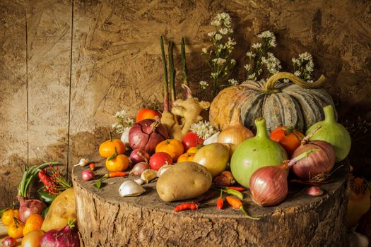 Lots of delicious vegetables · free photo