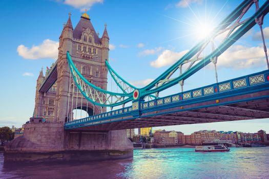 Фото бесплатно Тауэрский мост, Лондон, Великобритания