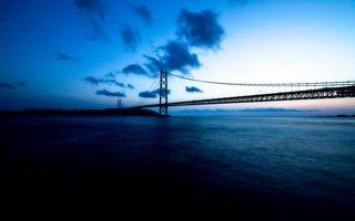 Фото бесплатно мост, мосты, небо