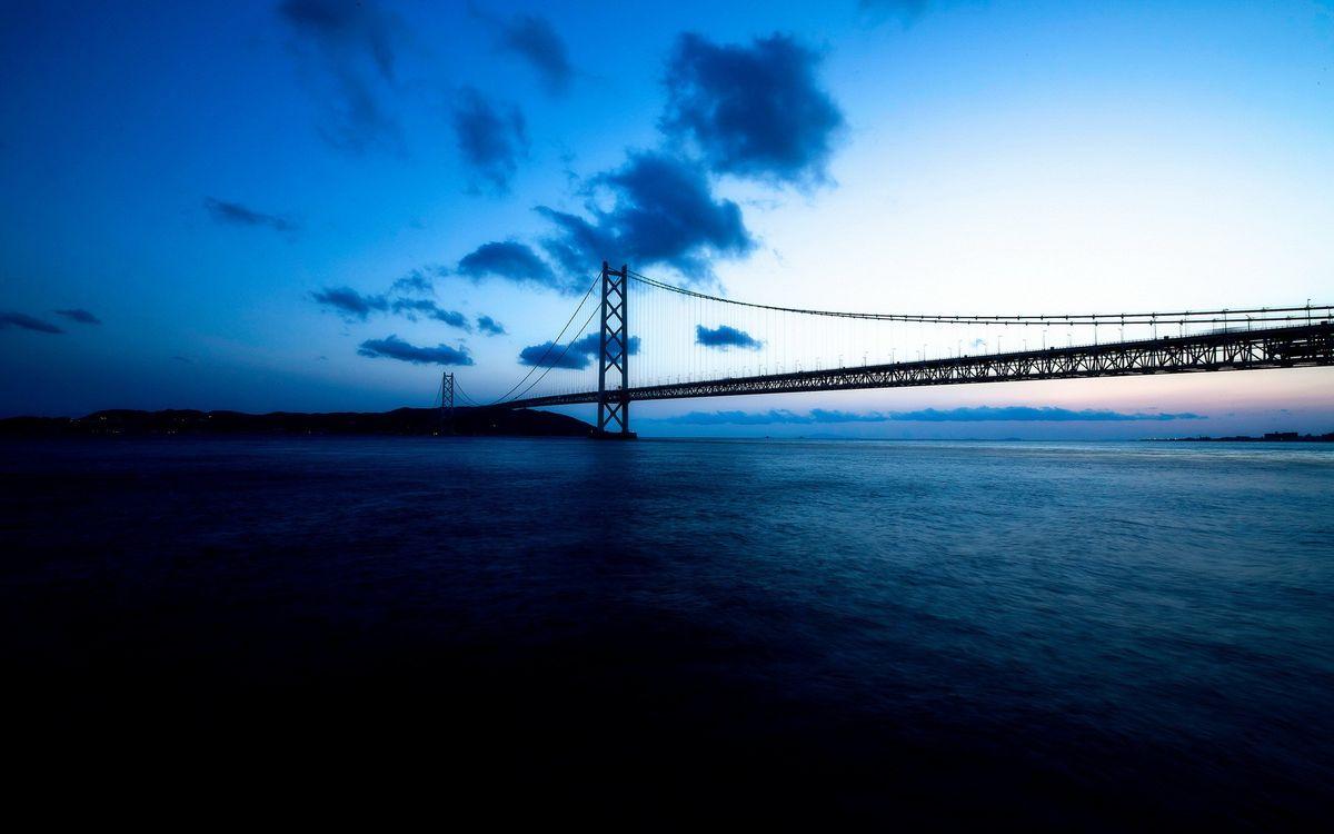 Обои мост, мосты, небо картинки на телефон