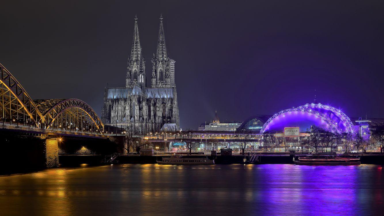 Фото бесплатно Кёльнский собор, Германия, Кёльн - на рабочий стол