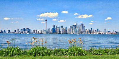 Фото бесплатно торонто, город, пейзаж