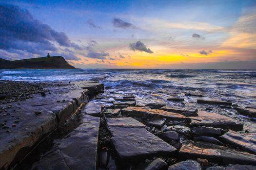 Фото бесплатно море, скалистый берег, волны