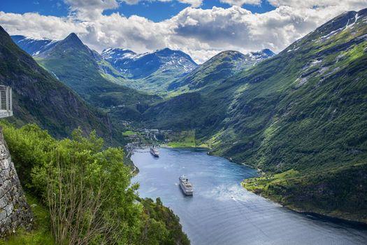 Фото бесплатно пейзаж, фьорды, норвегия