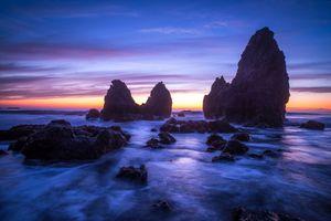 Берег и скалы в San Francisco · бесплатное фото