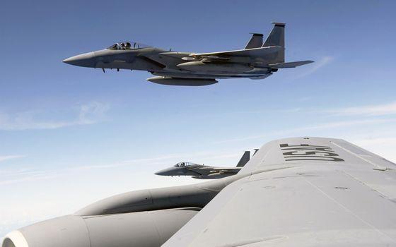 Фото бесплатно самолет, McDonnell Douglas F-15 Eagle, самолеты