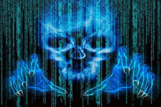 Фото бесплатно анархия, компьютер, кибер