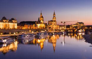 Фото бесплатно Германия, Дрезден, Эльба