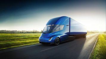 Фото бесплатно Тесла полу, Тесла, Truck