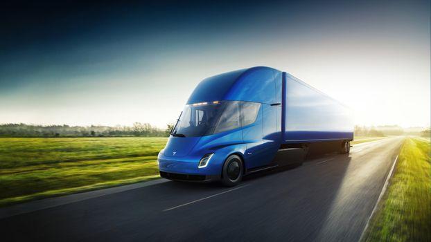 Photo free Floor Tesla, Tesla, Truck