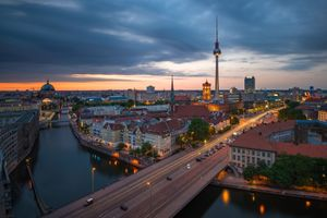 The cityscape of Berlin