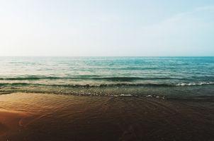 Фото бесплатно океан, горизонт, волны