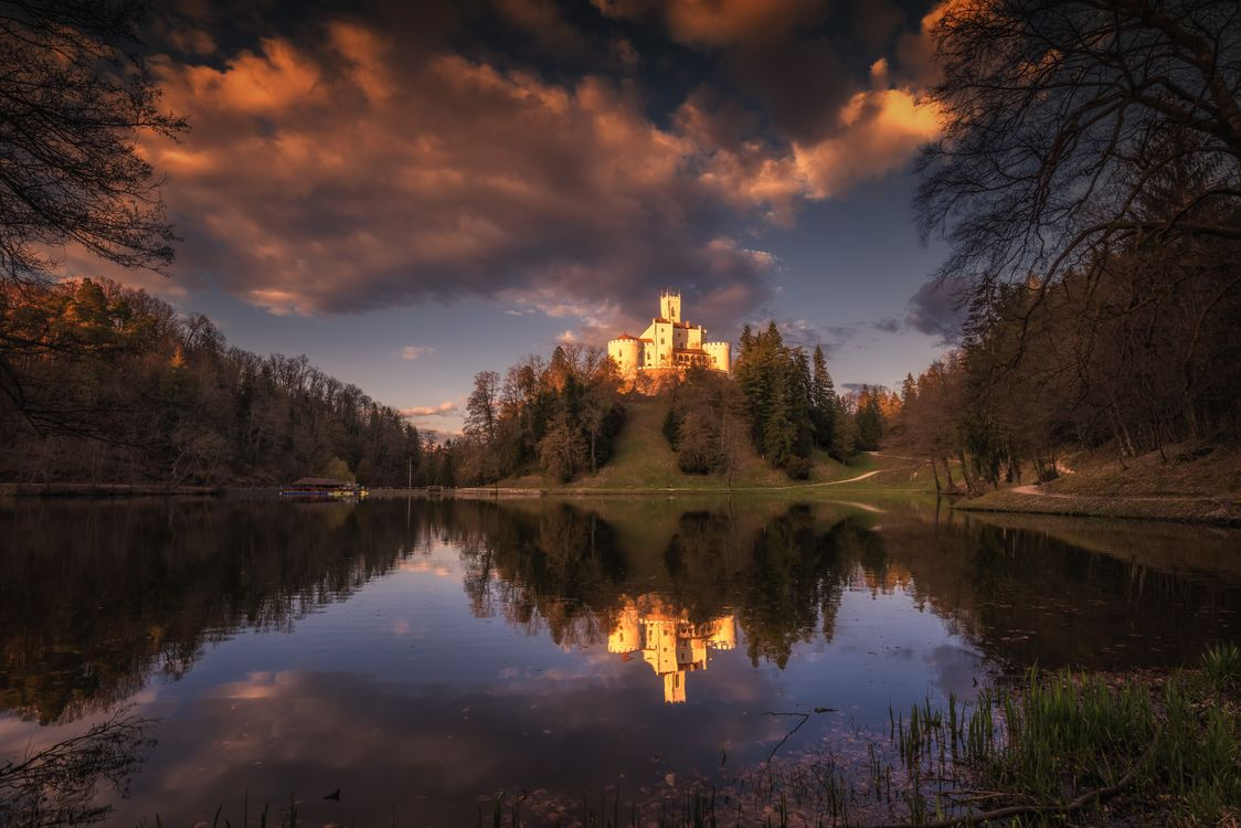 Картинки тракоскан красивые замок, замок тракошчан бесплатно