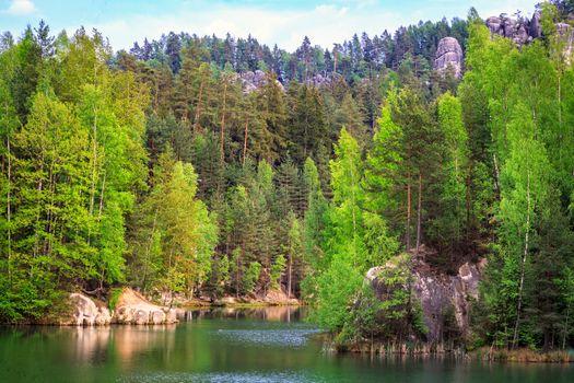 Photo free Czech Republic, Bohemia, national nature reserve Adr pach-Aplicaron