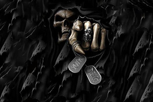 Фото бесплатно темно, смерть, страх