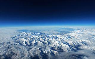 Заставки Планета Земля, горы, природа