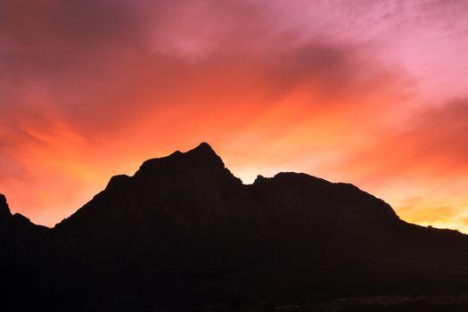 Фото бесплатно закат, горизонт, красное небо утром