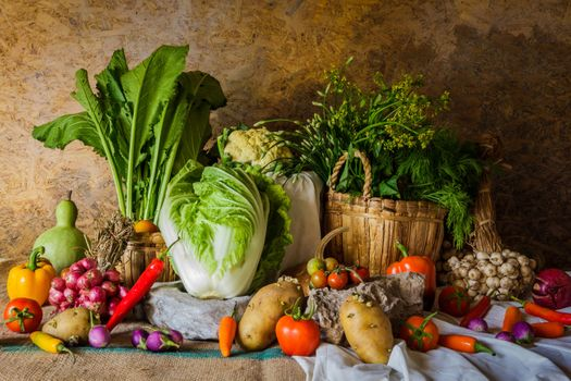 Herbs, vegetables, cabbage · free photo