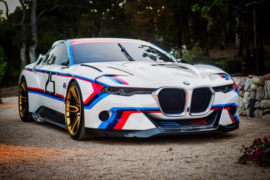 Photo free BMW 3 0 CSL Hommage R, racing cars, white