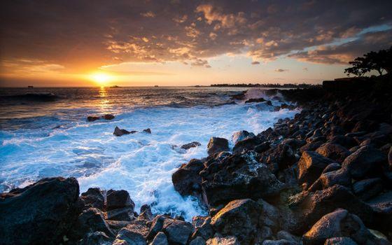 Фото бесплатно берег, пейзажи, океан