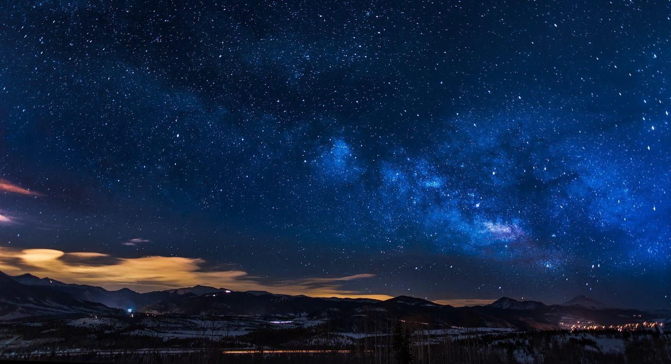 Фото бесплатно Астрономия, красивые, облака - на рабочий стол